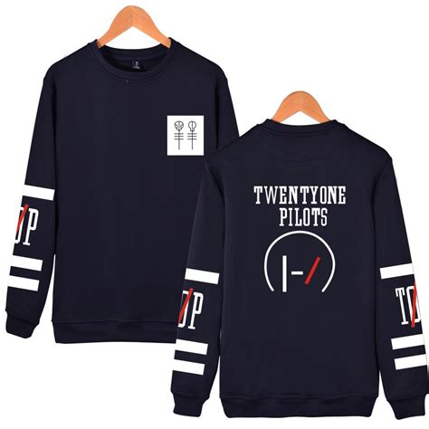 Twenty One Pilots 3 T Shirt Soft Cotton Combed Segala Warna luckyfridayf twenty one pilots cotton harajuku sweatshirt cotton sleeve sweatshirt