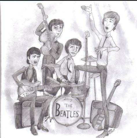 imagenes unicas de the beatles mis dibujos