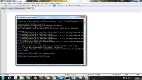 yii mongodb tutorial php mongodb extension for yii 2 throwing error of
