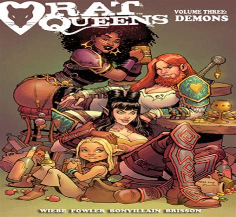 rat queens volume 3 1632157357 the rat queens face their demons vol 3 review the geeked gods