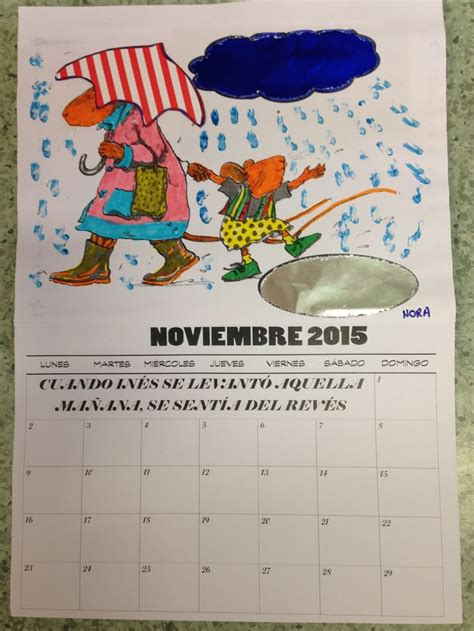 ines del reves 38 best images about calendarios on yogurt cups spanish and manualidades