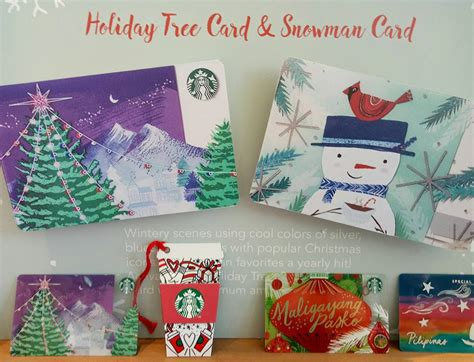 How To Activate Starbucks Gift Card - starbucks ph unveils 2018 starbucks planners cards and holiday beverages pinoy manila