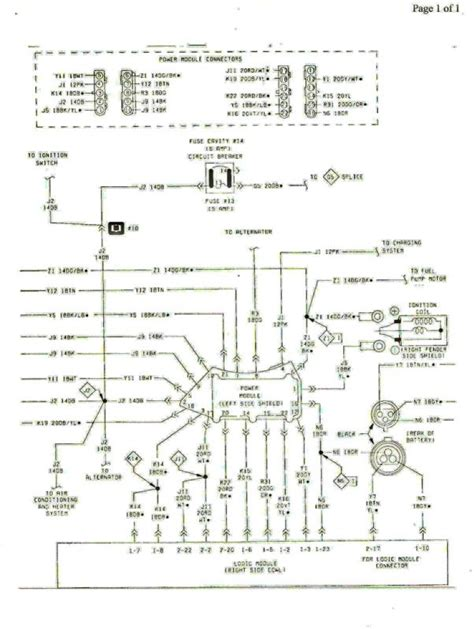 injector wiring diagrams 1996 powerstroke