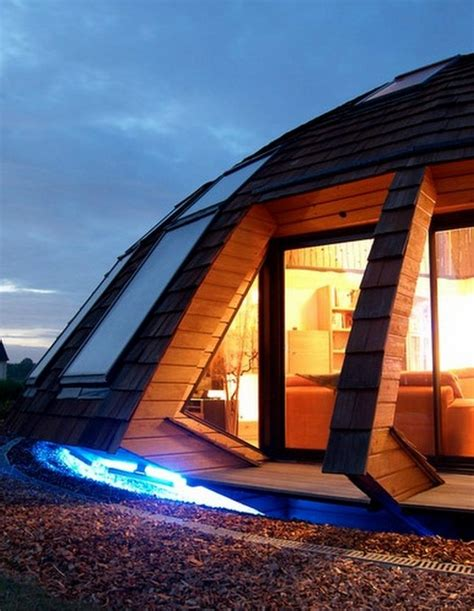 Dome Shaped House by A Dome Shaped Eco House Home Design Garden