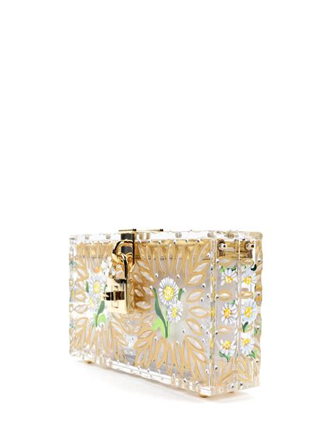 Dg Dolce And Gabbana Patent Clutch by Plastic And Clutch By Dolce Gabbana Clutches