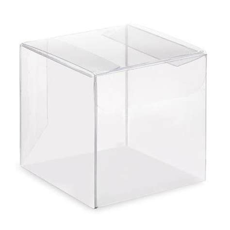 Clear Box 10 wedding favour boxes simply wedding favours