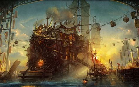 steampunk wallpapers 7391