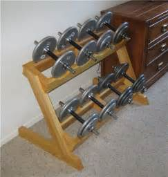 makeshift workout bench homemade small weight rack google search homemade fitness equipment pinterest
