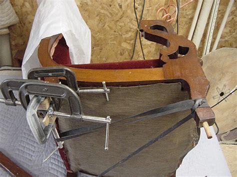 recliner hard to close ahm s repair of a broken rocker arm and leg