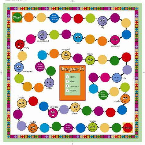 printable emotion games creative social worker