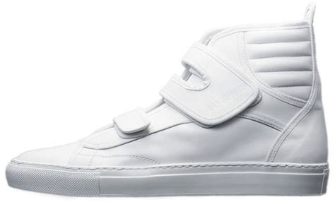 usher in raf simons velcro sneakers upscalehype
