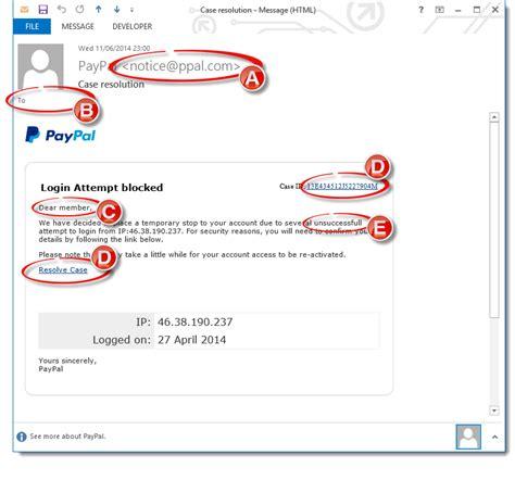 email fake identifying fake phishing emails
