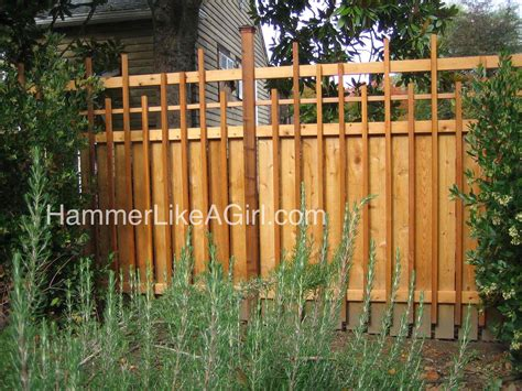 backyard wood fence diy arbor fence hammer like a girlhammer like a girl