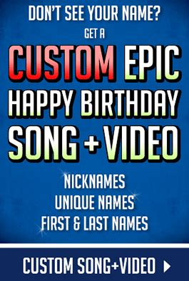 happy birthday song make a name epic happy birthday song with names