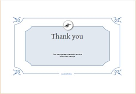 graduation thank you card templates word 6 customizable graduation templates for ms word document hub