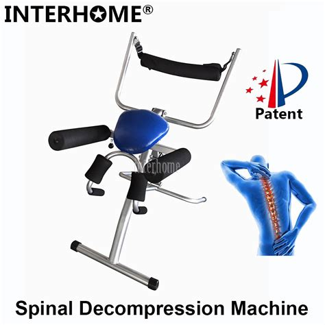 patented spinal decompression efficent spine lumbar
