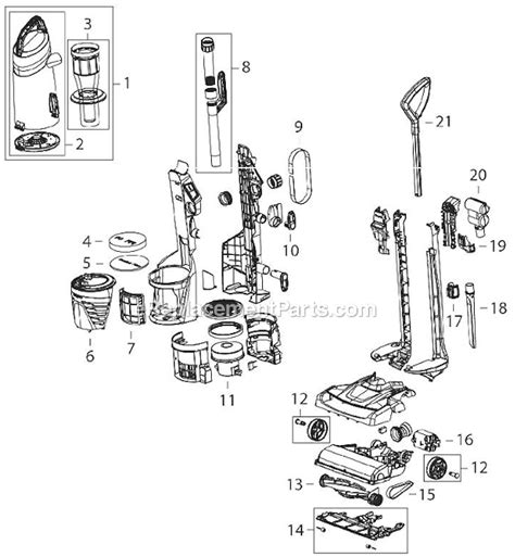 bissell vacuum parts diagram bissell 2763 parts list and diagram ereplacementparts