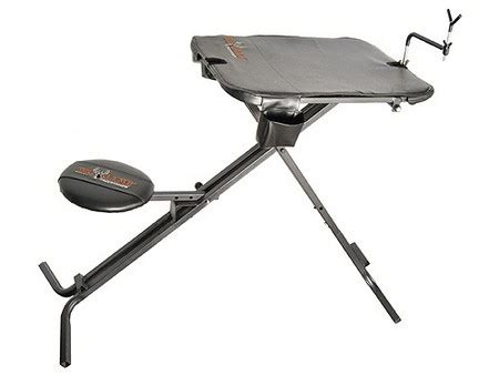 portable shooting bench reviews big game deluxe portable shooting bench ar02b vance outdoors