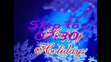 happy holidays bing crosby lyrics youtube