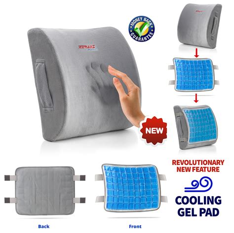 best memory foam seat cushion for relief sciatica lower back coccyx