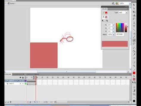 tutorial flash cs4 pdf tutorial anima 231 227 o no adobe flash cs4 youtube