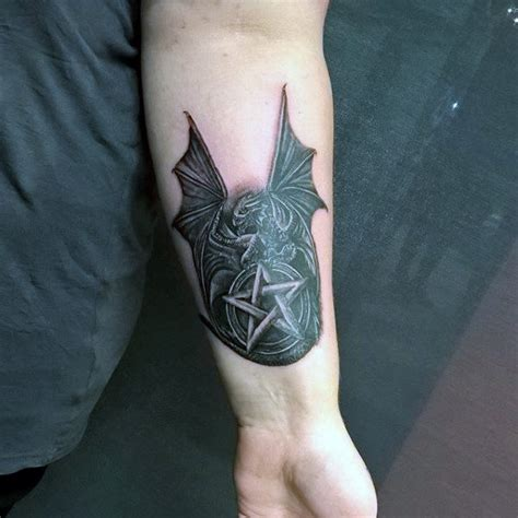 5 point tattoo 50 pentagram designs for five pointed ideas