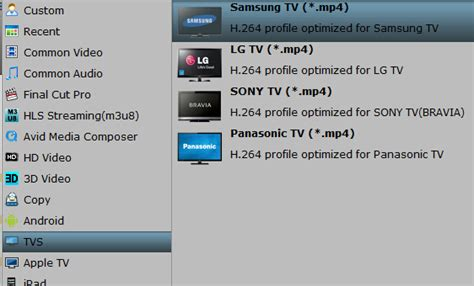 audio format samsung smart tv stream play iso files from usb or nas ilcorto