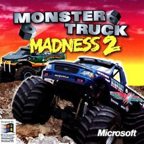 monster truck games video monster truck madness 2 game giant bomb