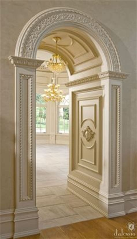 1000 ideas about arch doorway on moldings