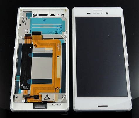 Lcd Touchscreen Frame Sony Xperia M4 Aqua E2303 E2306 E2353 sony xperia m4 aqua e2303 lcd display module white 124tul0010a parts4gsm