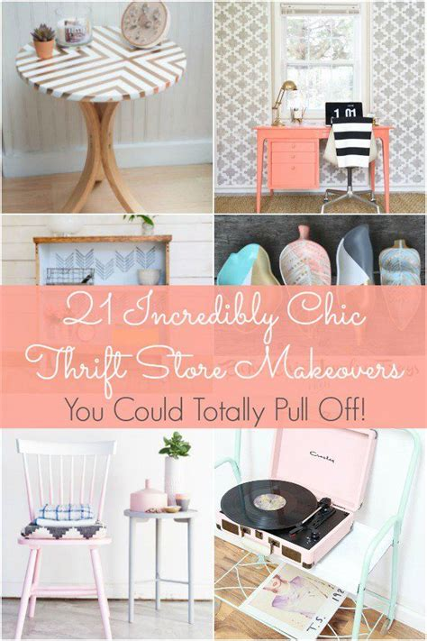thrift store home design decor hacks 21 incredibly chic thrift store makeovers you could totally pull decor