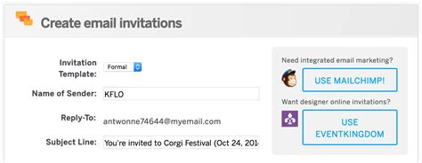 reply to wedding invitation not able attend how to create and send email invitations for your event