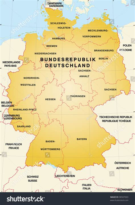 germany map and surrounding countries germany map and surrounding countries 10 outline of c