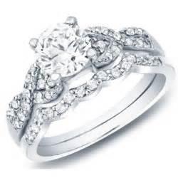 cheap bridal wedding ring sets delightful cheap wedding set 1 carat cut