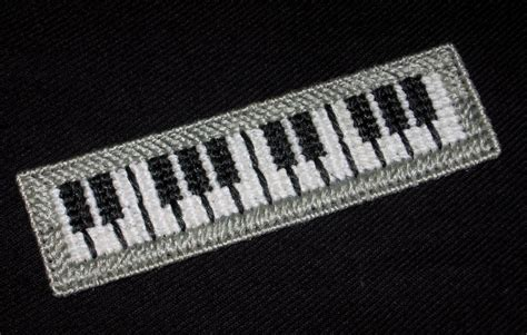 Handmade Piano - handmade piano keyboard bookmark using plastic canvas new