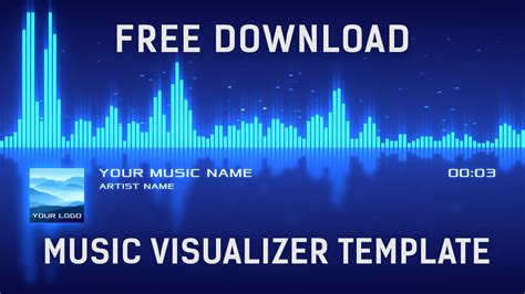 audio spectrum template free visualizer after effects template free