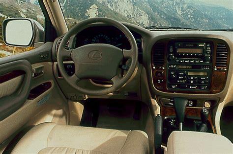 lexus wagon interior 1998 07 lexus lx 470 consumer guide auto