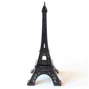 Eiffel Tower Decorations by Mini Metal Eiffel Tower Decoration In Black 6 Quot