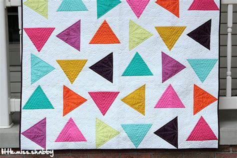 Quilting With Triangles by Lms I M In Mccall S Quilting Triangle Toss Quilt