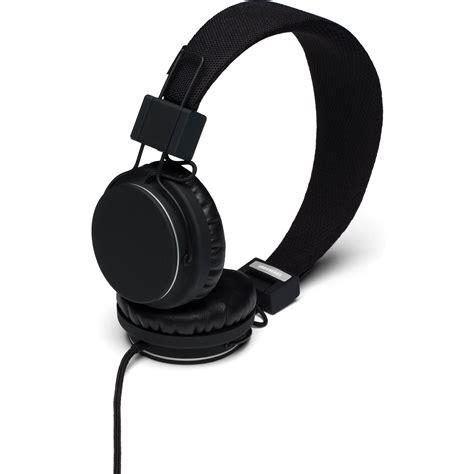 Urbanears Plattan Black Original urbanears plattan on ear headphones black 4091009 b h photo