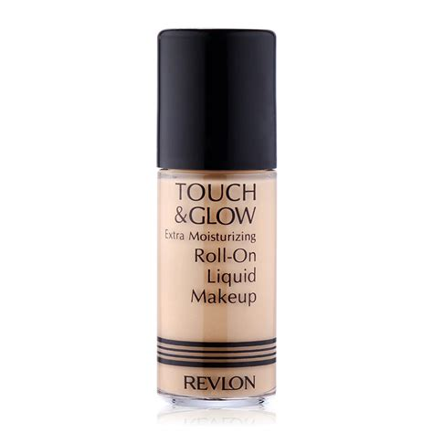 Revlon Touch And Glow Moisturizing Makeup revlon touch glow moisturizing roll on liquid