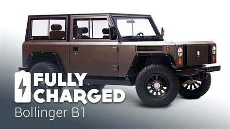 bollinger b1 bollinger b1 fully charged youtube