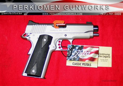 Dvd Box 9mm Gtpro stainless pro carry 9mm 4 quot new in box for sale