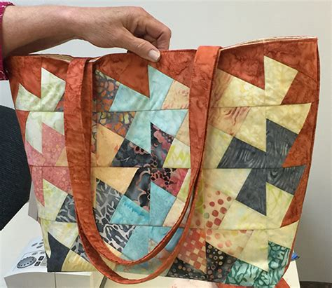 twister tote bag pattern patchworks quilting fabric quilt shop