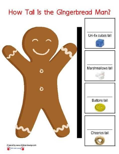 gingerbread man printable resources all worksheets 187 unifix cubes worksheets printable