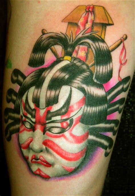 kabuki tattoo pictures by nicholas gonzalez