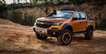 chevrolet colorado xtreme study previews the global model