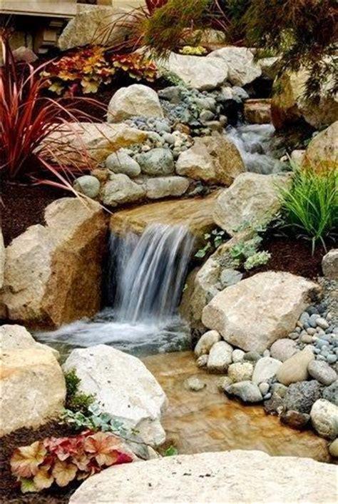 stone waterfalls backyard 17 best images about water features on pinterest gardens garden ideas and backyard