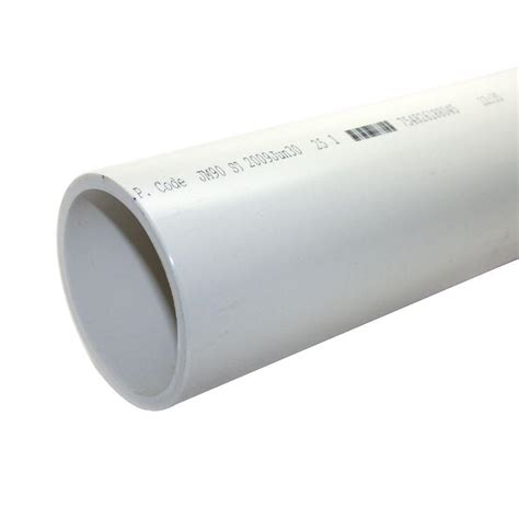 jm eagle 3 in x 10 ft pvc schedule 40 dwv plain end pipe