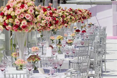 Wedding Table Setup by Glamorous Opulence Modern Wedding